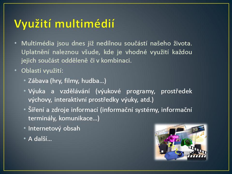 Využití multimédií