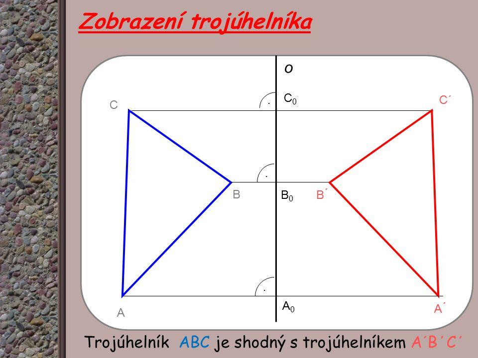Zobrazení trojúhelníka