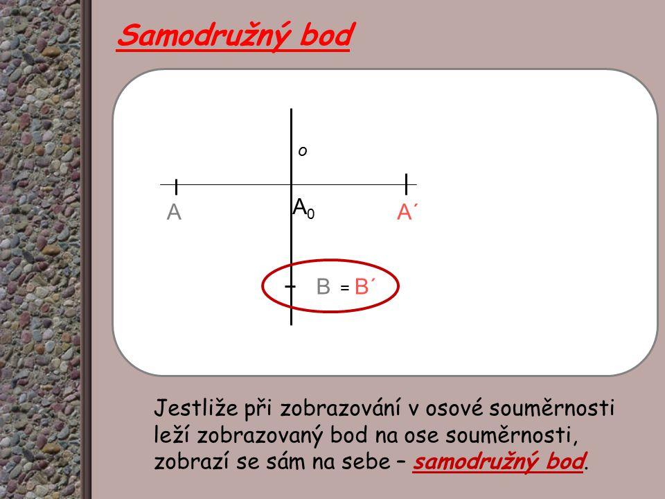 Samodružný bod A΄ A. A0. o. B. = B΄