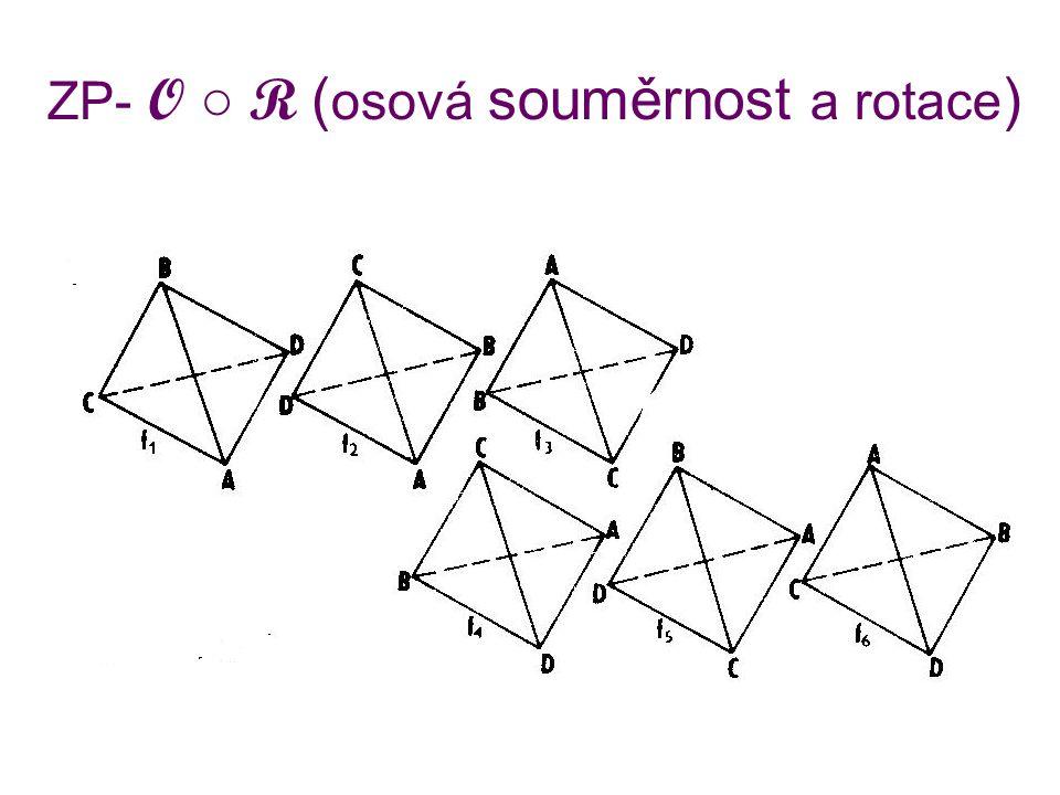 ZP- O ○ R (osová souměrnost a rotace)