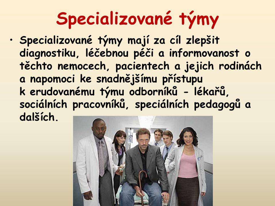 Specializované týmy