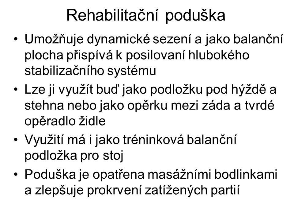 Rehabilitační poduška