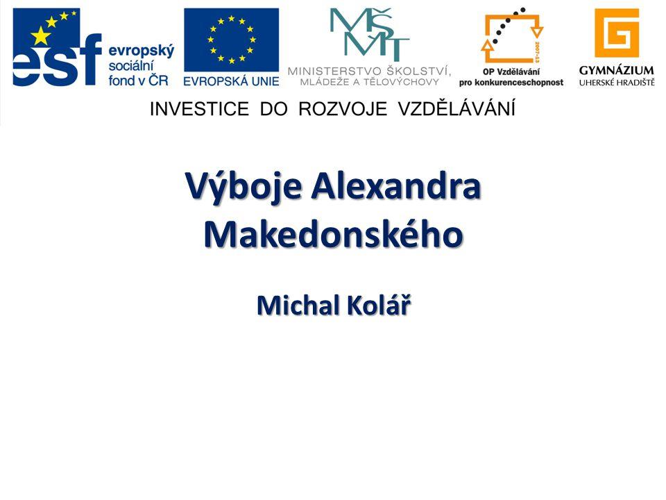 Výboje Alexandra Makedonského