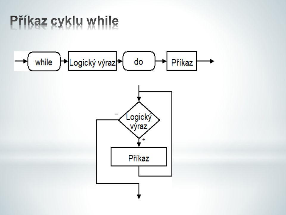 Příkaz cyklu while