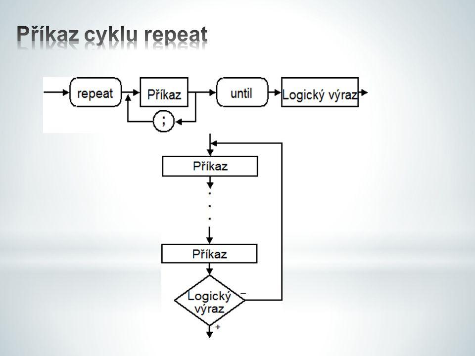 Příkaz cyklu repeat