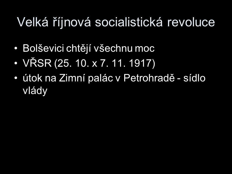 Velká říjnová socialistická revoluce