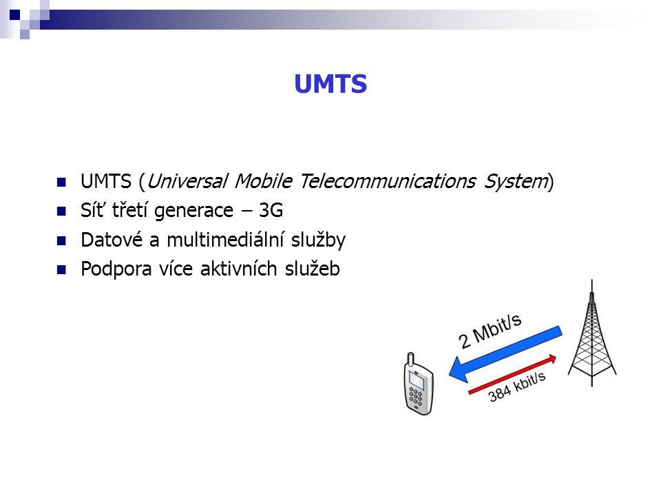 UMTS UMTS (Universal Mobile Telecommunications System)