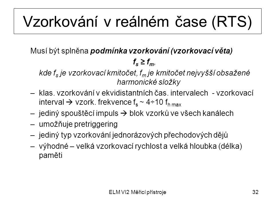 Vzorkování v reálném čase (RTS)