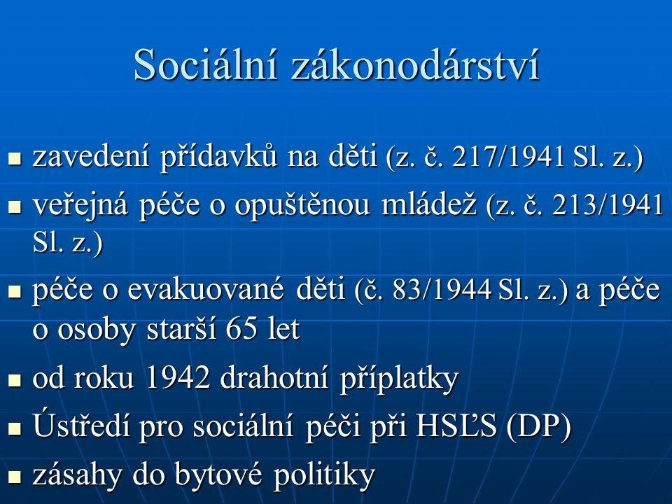 Sociální zákonodárství