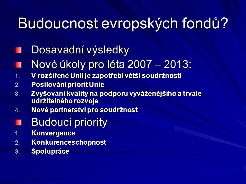 Budoucnost evropských fondů