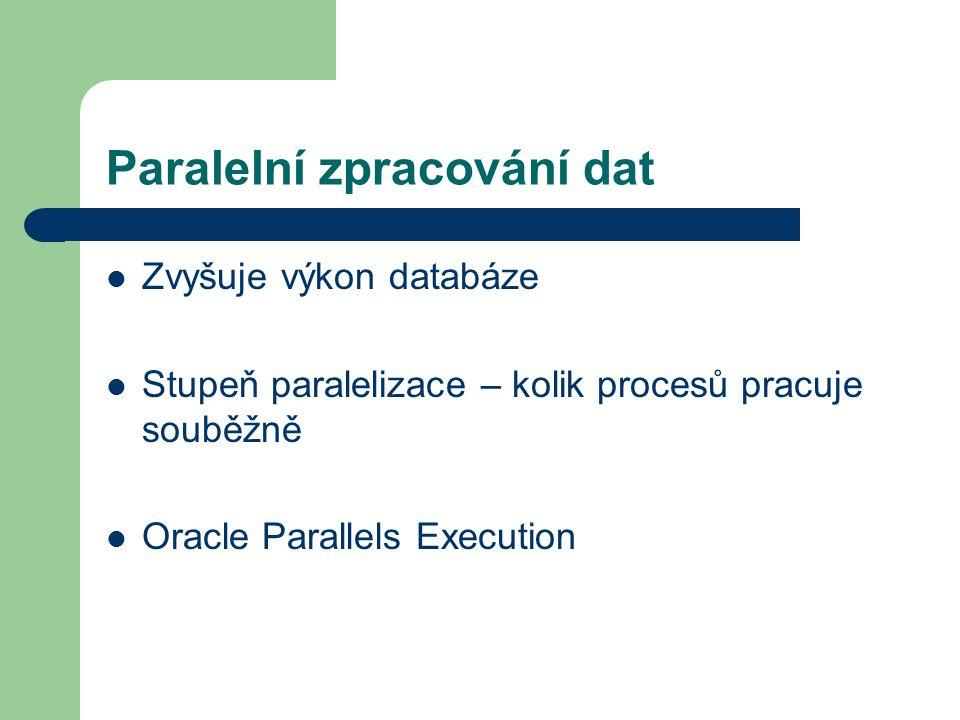 Paralelní zpracování dat