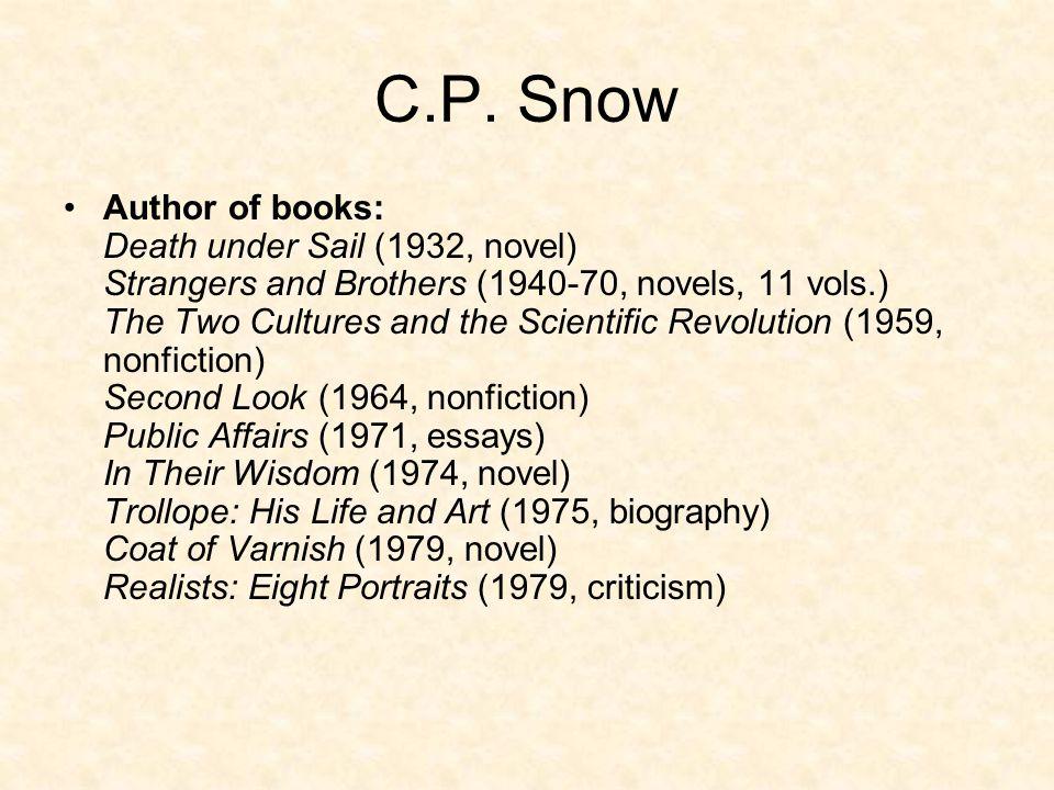 C.P. Snow