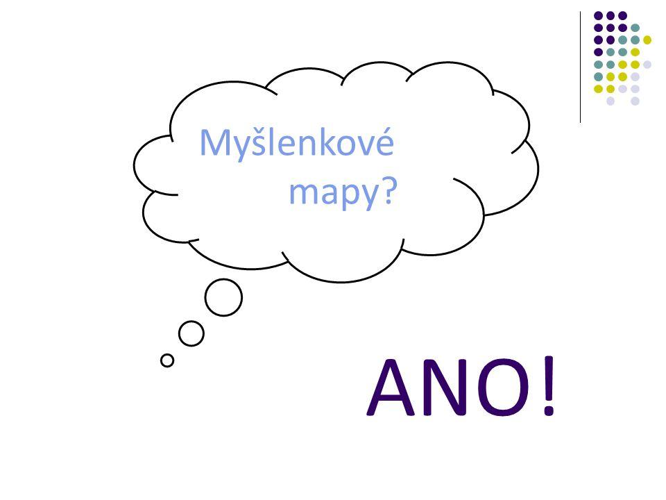 Myšlenkové mapy ANO!