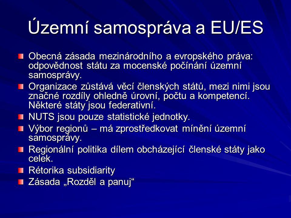 Územní samospráva a EU/ES