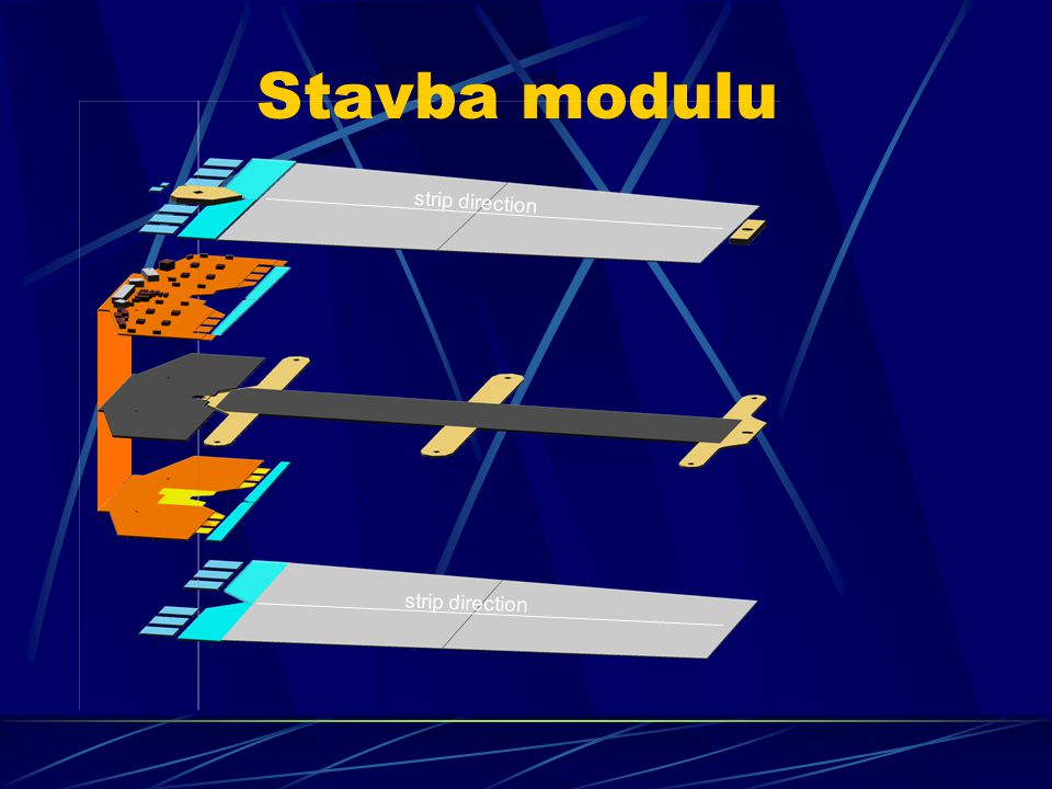Stavba modulu strip direction
