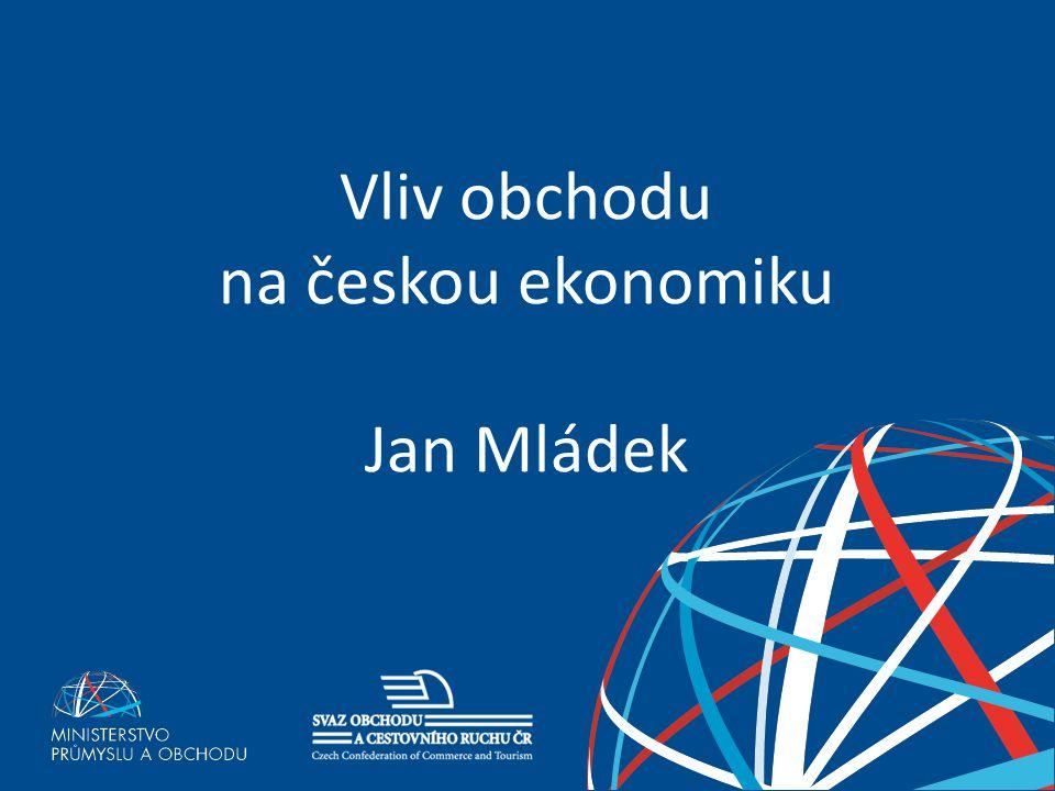 Vliv obchodu na českou ekonomiku