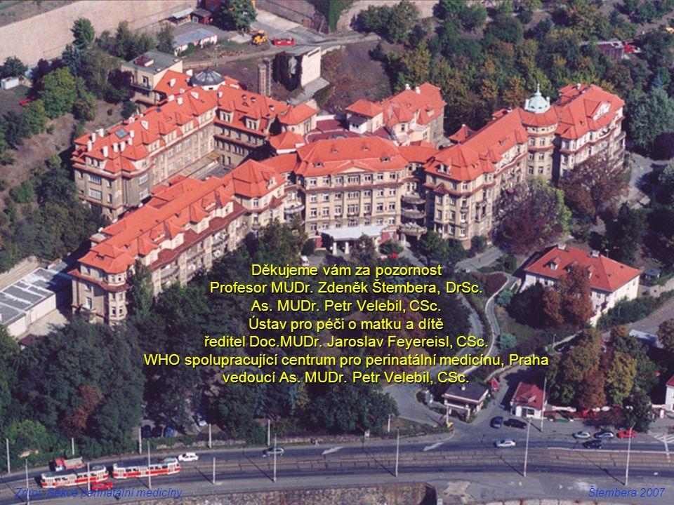 Děkujeme vám za pozornost Profesor MUDr. Zdeněk Štembera, DrSc. As
