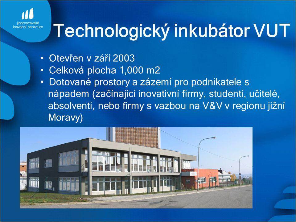 Technologický inkubátor VUT