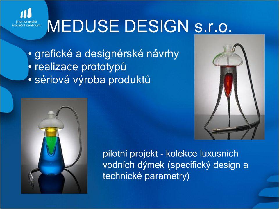 MEDUSE DESIGN s.r.o. grafické a designérské návrhy realizace prototypů