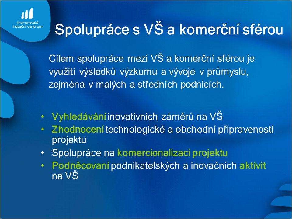 Spolupráce s VŠ a komerční sférou