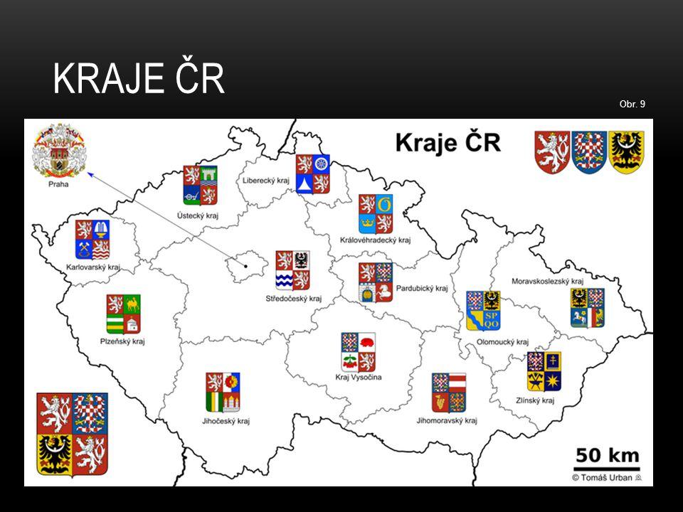 Kraje ČR Obr. 9