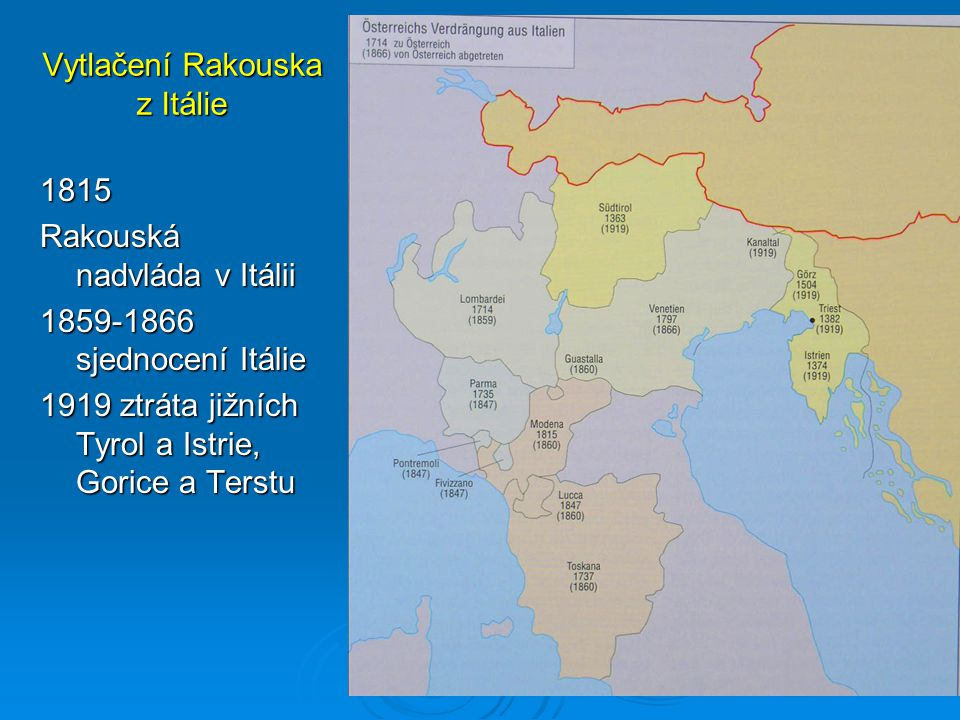 Vytlačení Rakouska z Itálie