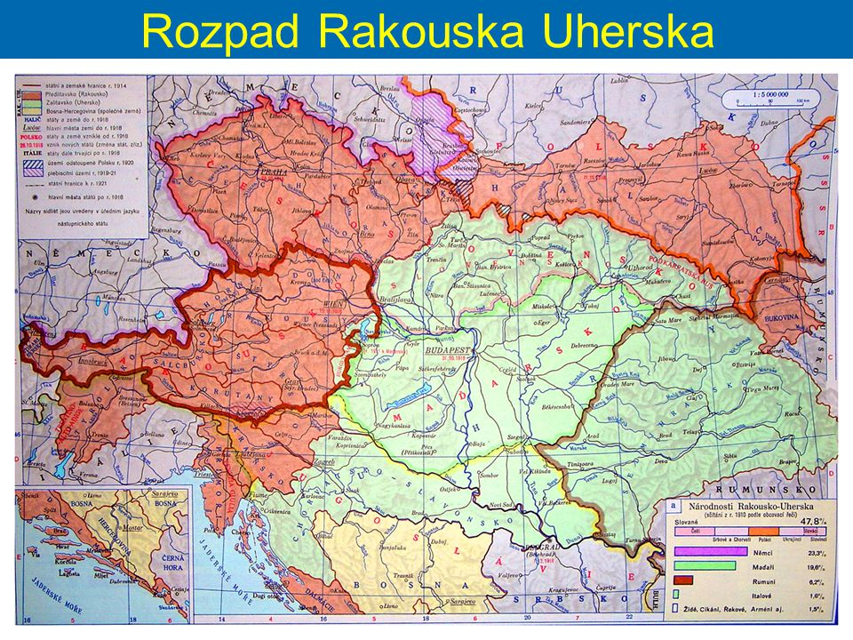 Rozpad Rakouska Uherska