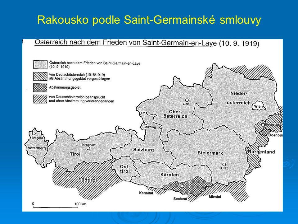 Rakousko podle Saint-Germainské smlouvy