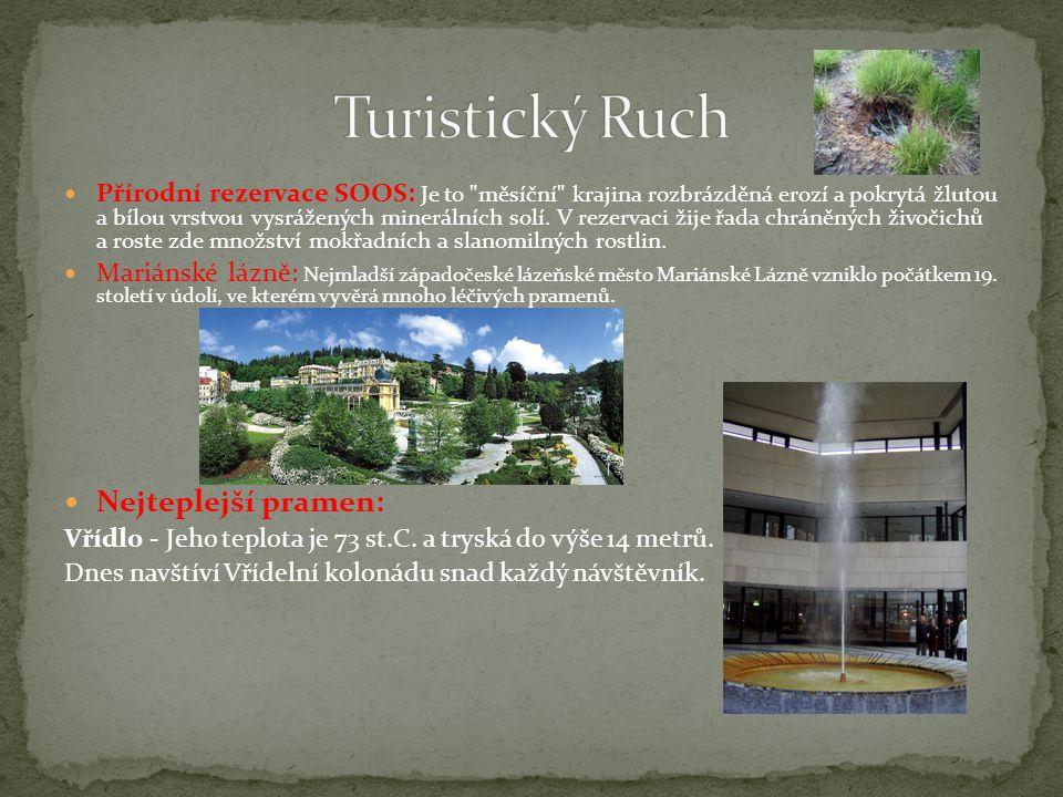 Turistický Ruch Nejteplejší pramen: