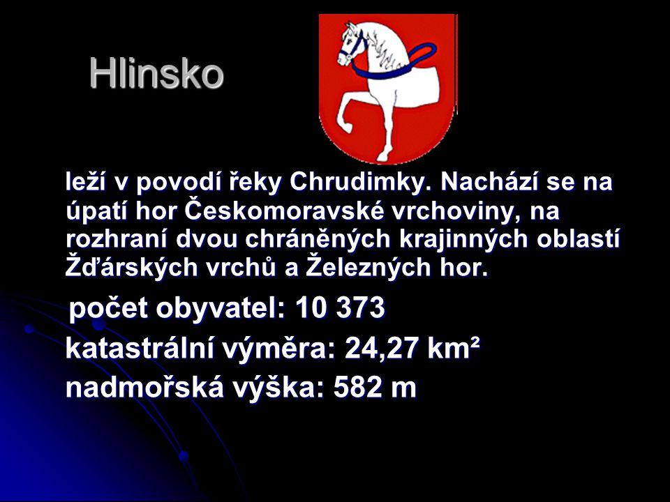 Hlinsko počet obyvatel: 10 373