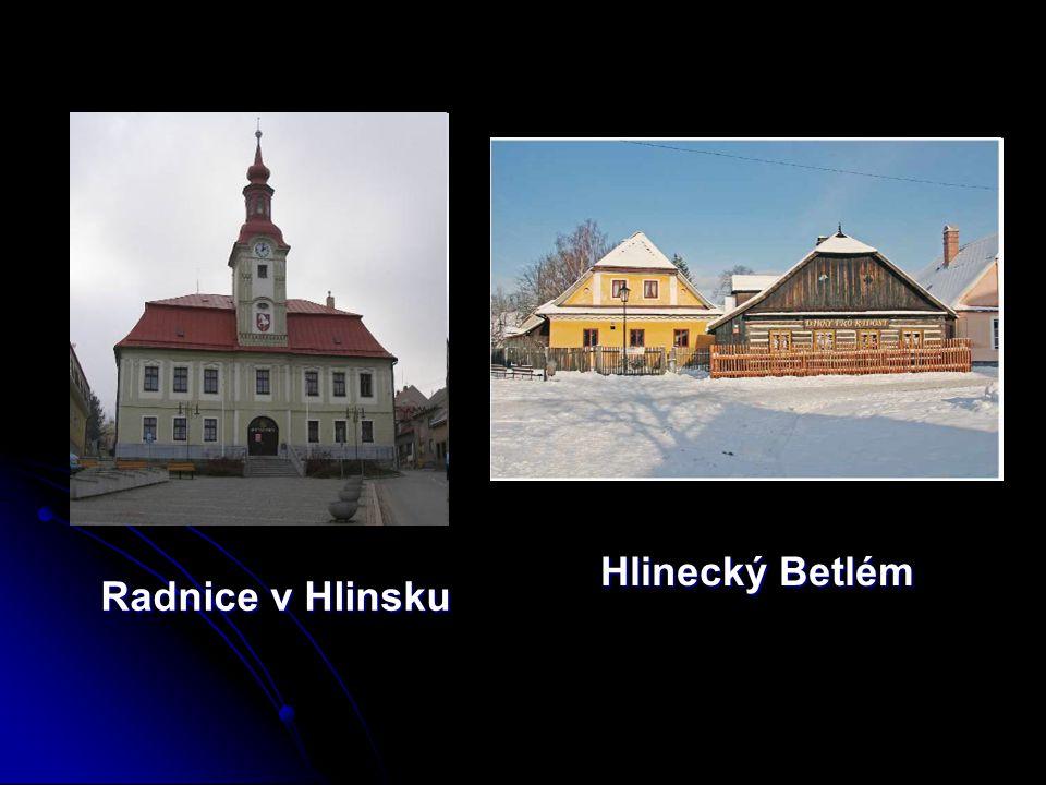 Hlinecký Betlém Radnice v Hlinsku