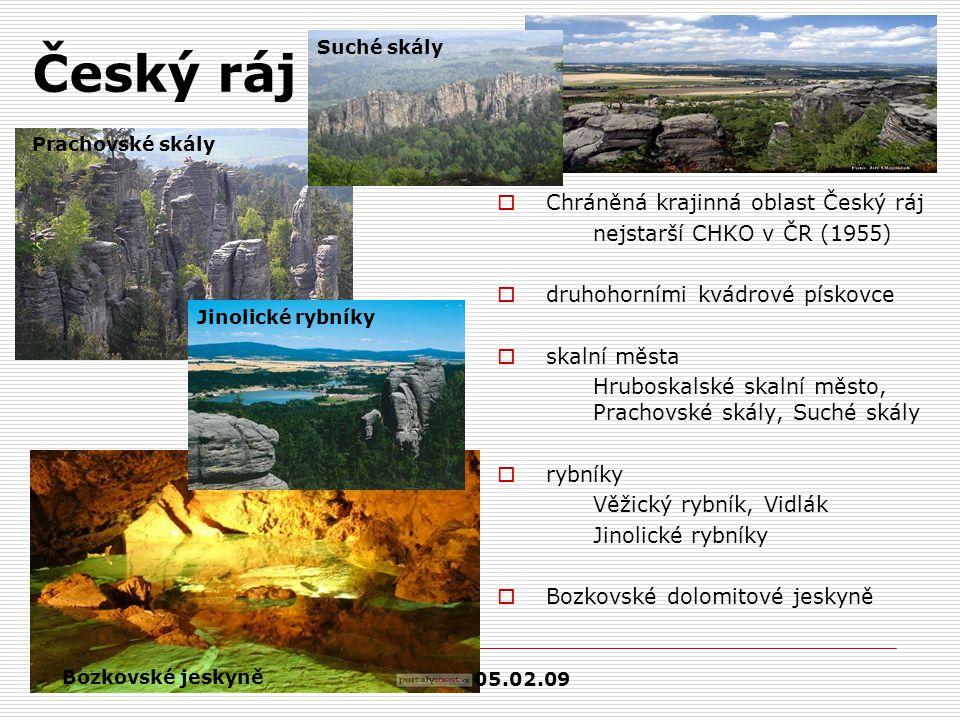 Český ráj Chráněná krajinná oblast Český ráj
