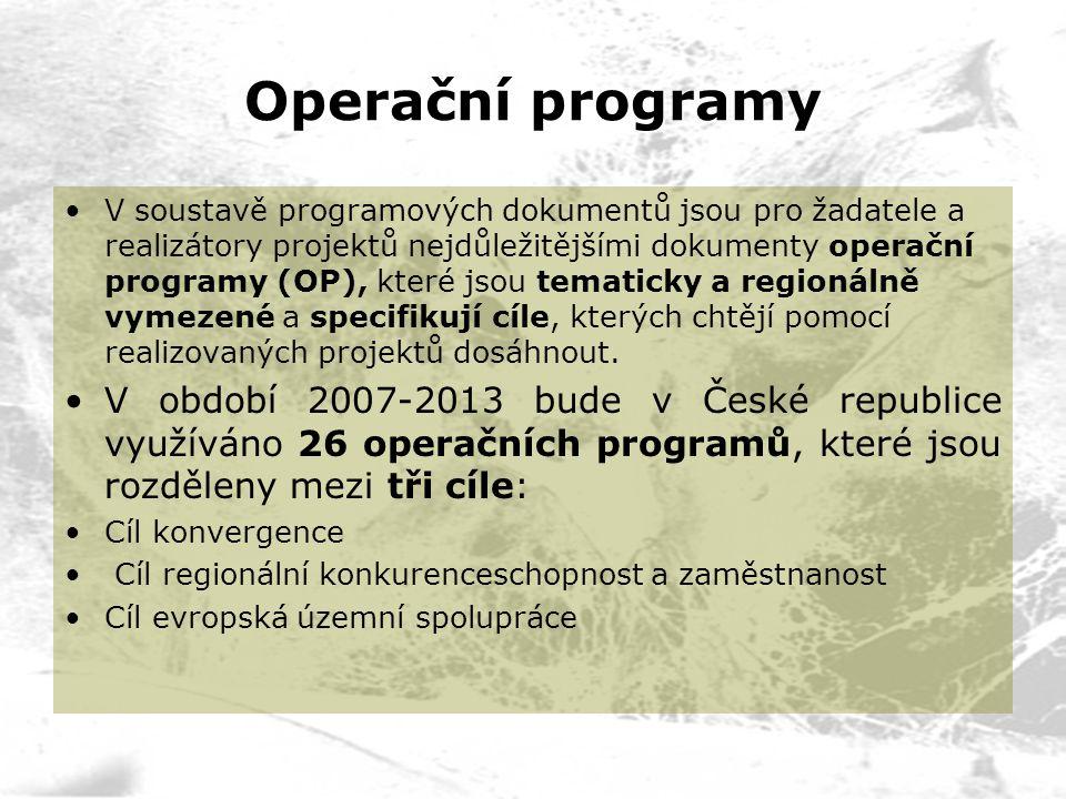 Operační programy