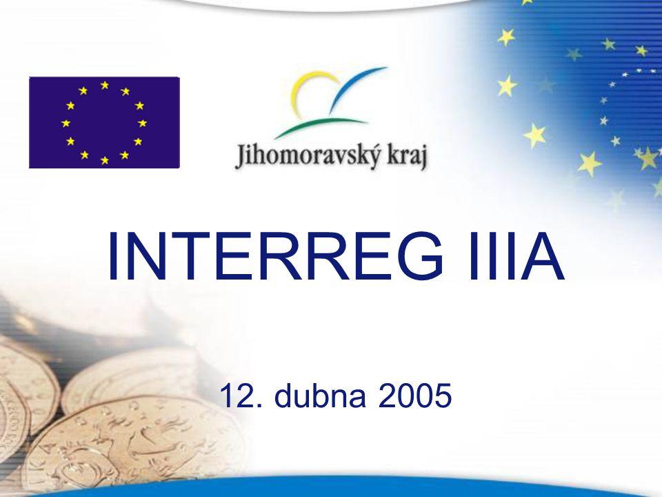 INTERREG IIIA 12. dubna 2005