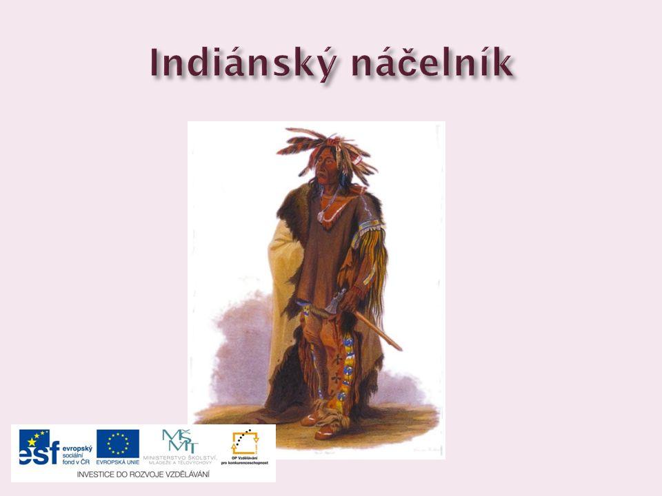 Indiánský náčelník