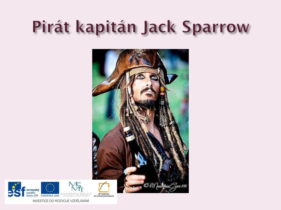 Pirát kapitán Jack Sparrow