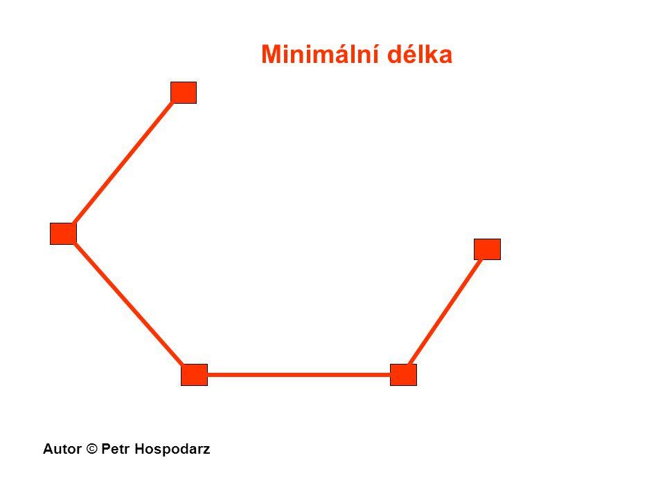 Minimální délka Autor © Petr Hospodarz