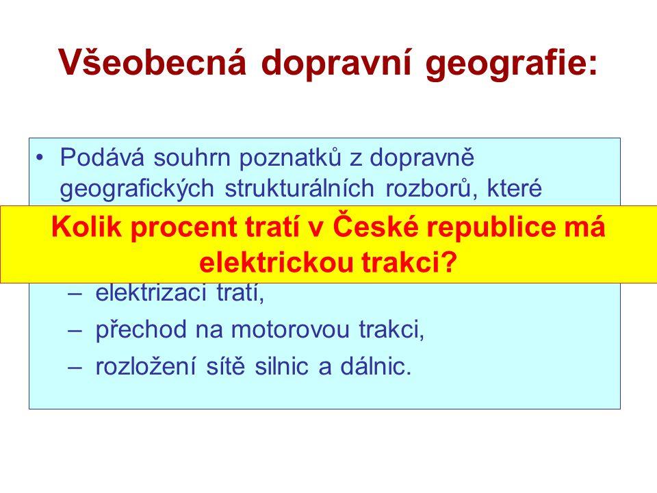 Všeobecná dopravní geografie: