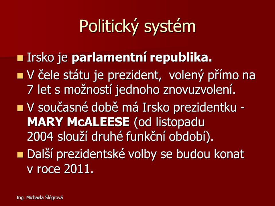 Politický systém Irsko je parlamentní republika.