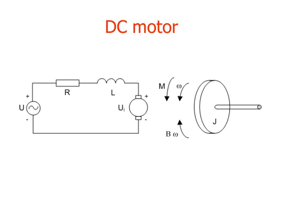 DC motor mate priklad: OTAZKY: 1) kolik bude rovnic