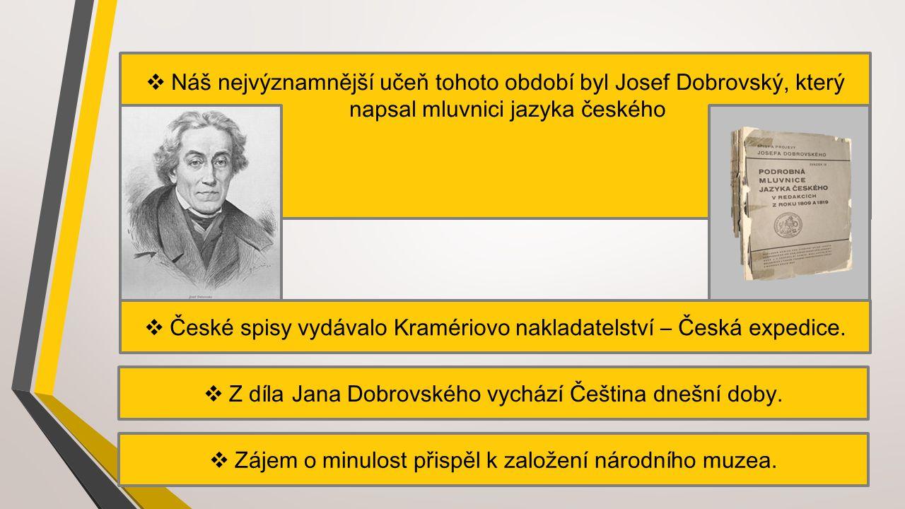 České spisy vydávalo Kramériovo nakladatelství – Česká expedice.