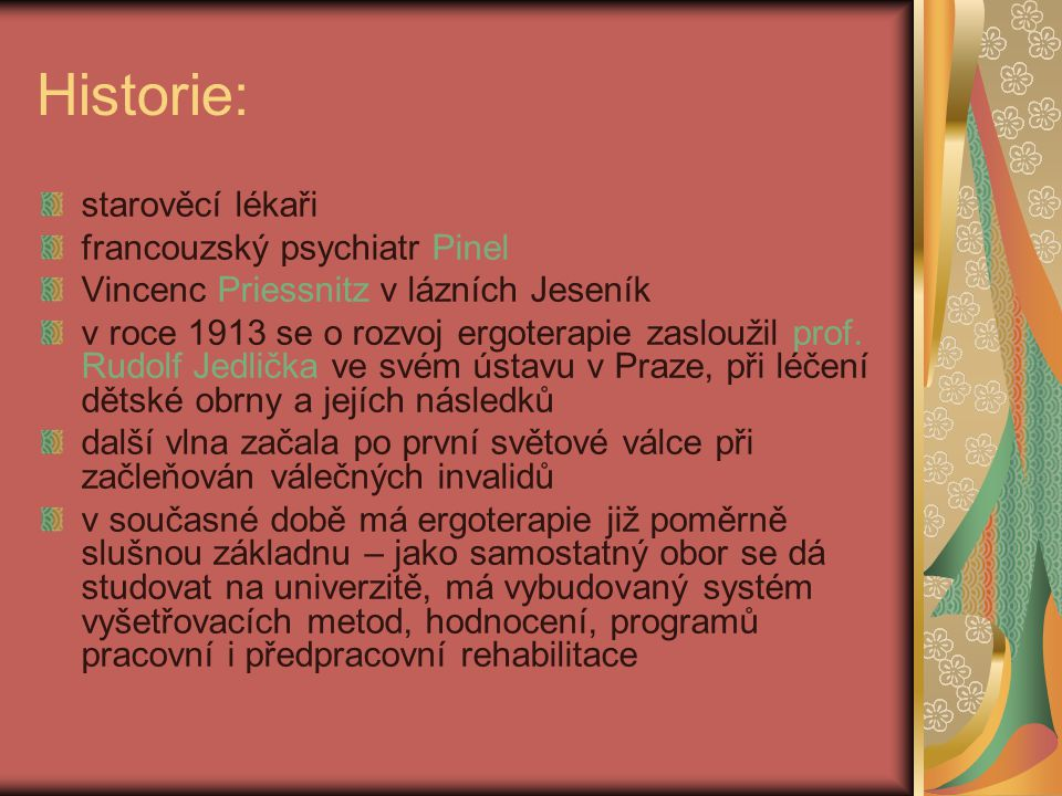Historie: starověcí lékaři francouzský psychiatr Pinel