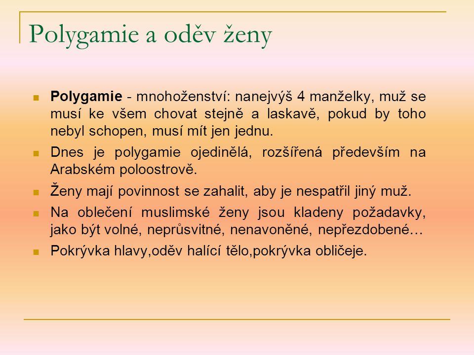 Polygamie a oděv ženy