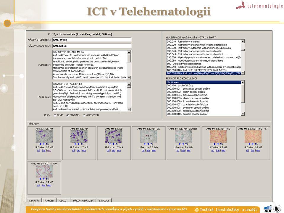 ICT v Telehematologii