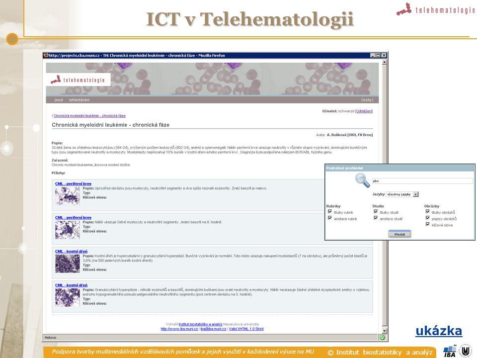 ICT v Telehematologii ukázka
