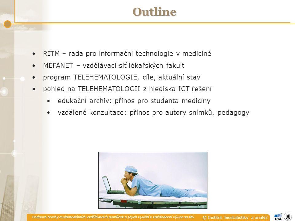 Outline RITM – rada pro informační technologie v medicíně