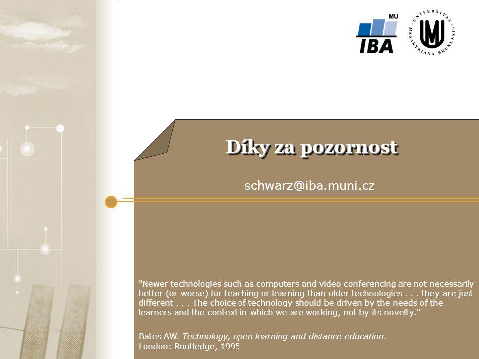 ffgf Díky za pozornost schwarz@iba.muni.cz 22