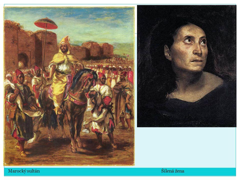Marocký sultán Šílená žena