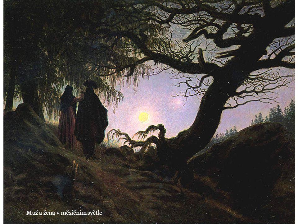 Muž a žena v měsíčním světle