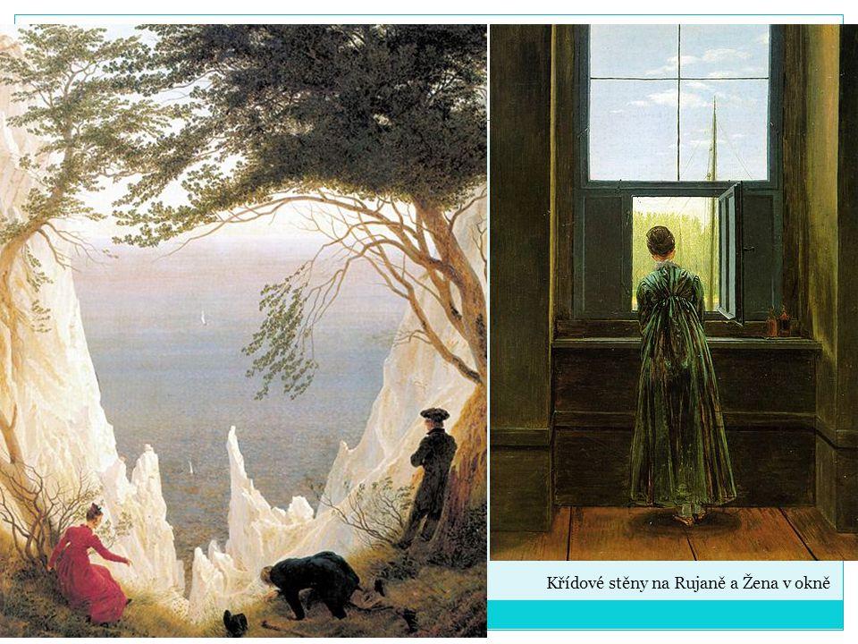 Křídové stěny na Rujaně a Žena v okně